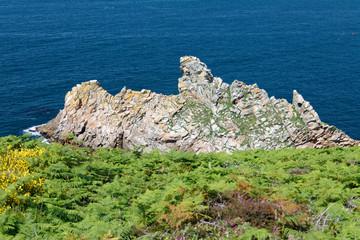 Formacje skalne Finisterre, Francja