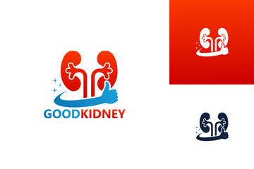 Best Kidney Logo Template Design Vector, Emblem, Design Concept, Creative Symbol, Icon