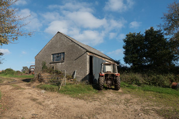 disused building on farm
