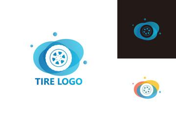 Tire Logo Template Design Vector, Emblem, Design Concept, Creative Symbol, Icon