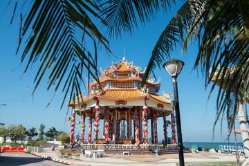 THAILAND CHONBURI SI RACHA KOH LOY TEMPLE