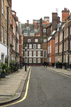 View of Cowley Street in London