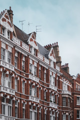 Row of houses in Chelsea London