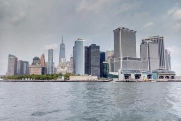 New York, USA - September 2, 2018: View of New York.
