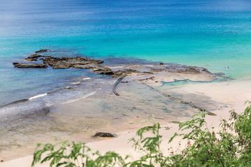A view from the Boldro Beach, in Fernando de Noronha Island, Brazil