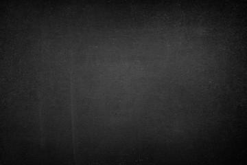 Old blackboard or chalkboard as a black background