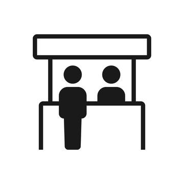 Promo stand icon