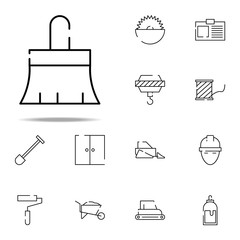brush for painting icon. construction icons universal set for web and mobile