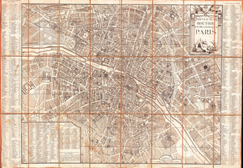 Esnauts and Rapilly Case Map of Paris