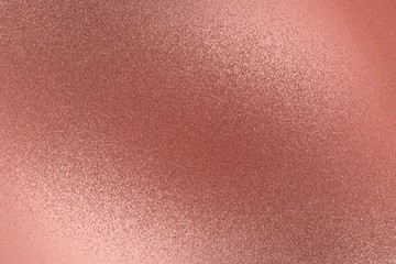 Texture of rough old red metal wall, abstract background Wall mural