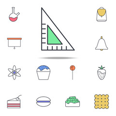 angle ruler icon. web icons universal set for web and mobile