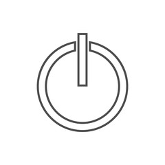 inclusion mark icon. Element of cyber security for mobile concept and web apps icon. Thin line icon for website design and development, app development