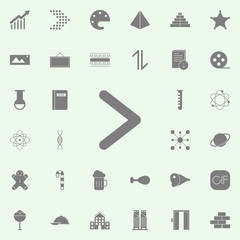 Arrow icon. web icons universal set for web and mobile