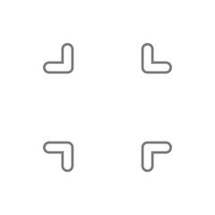Focus  icon. Element of cyber security for mobile concept and web apps icon. Thin line icon for website design and development, app development