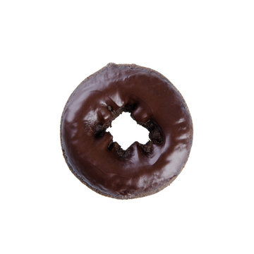 donut or donut isolated on white background.