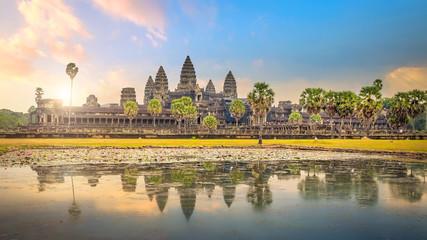 sunrise at Ankor Wat, Siem Reap, Cambodia Fototapete
