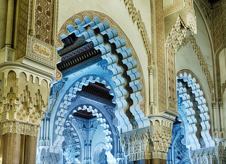 Inside The King Hassan Mosque