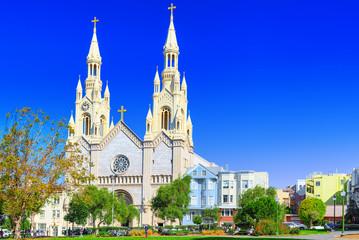 Saints Peter and Paul Church in  San Francisco.