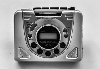 Walkman reproductor de música antiguo