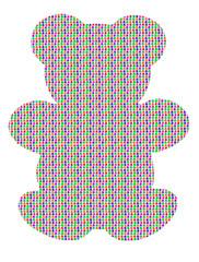 gummy bear sbstract