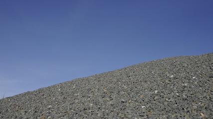 Granitsplitt Baustoff
