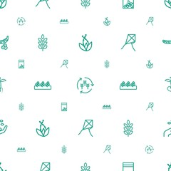 seed icons pattern seamless white background