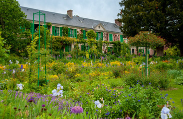 Giverny , maison Monet