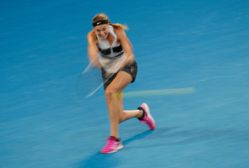 Tennis - Australian Open - Quarter-final