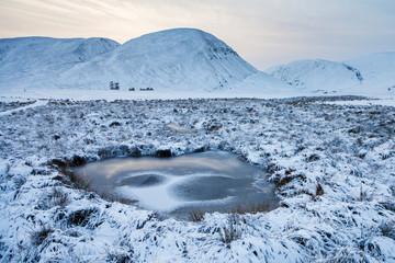 Findhorn valley in Scotland