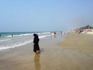 Badespaß an den Stränden von Goa in Südindien