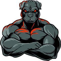 Strong bulldog