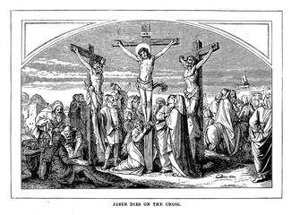 The suffering and death of Jesus Christ