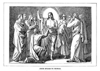 The Unbelieving Thomas.