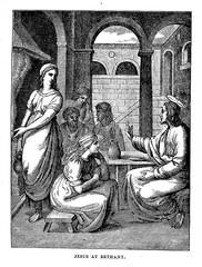 Jesus at Bethany