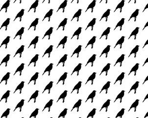 Birds pattern seamless