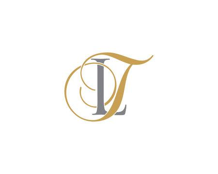 LT TL Letter Logo Icon 002