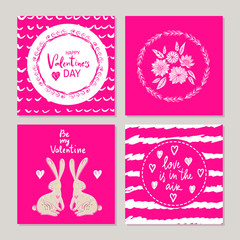 Set of gift cards4