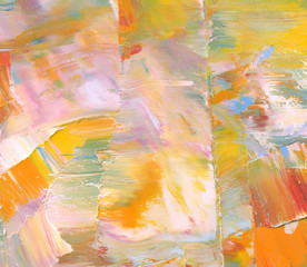 Colorful textured background. Oil paint. High detail . Can be used for web design, art print, etc.