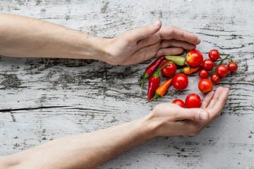 Hand Vegetable