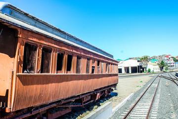 old train cabin
