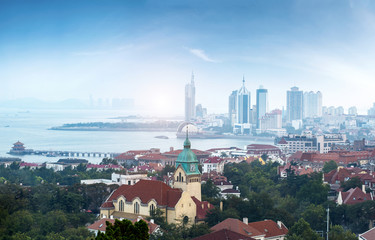Beautiful City in Qingdao, China
