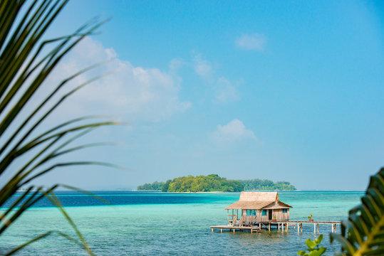 Tropical island Solomon island