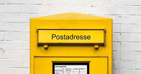 Postadresse Finden