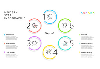 6 Step Infographic