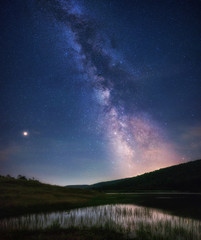 milky way , photography from Bulgaria