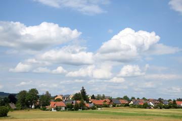 Fotomurales - Felder bei Weißenstadt
