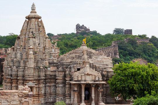 Chittorgarh ruins, India