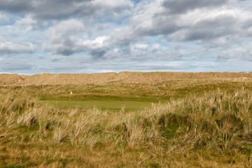 Fraserburgh Golfcourse in the Dunes in Scotland