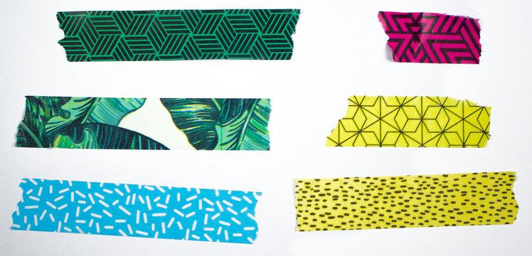 Washi Tape verschiedene Farben Muster