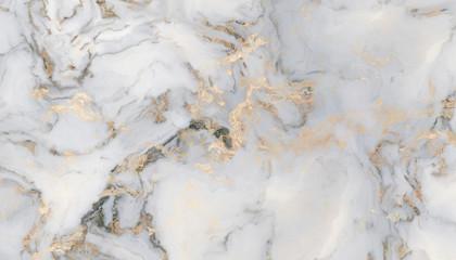 Fototapeta White curly marble obraz